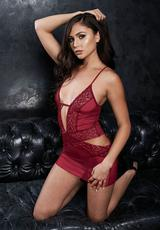 SEXY MINI DRESS & G-STRING SET