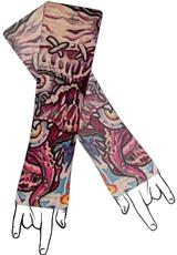 TATTOO SLEEVE HOLLYWOOD HORROR Medium Front