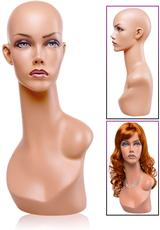 JACQUELINE HEAD MANNEQUIN (DISC) Medium Front