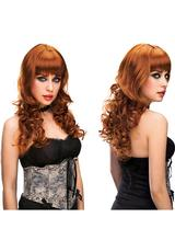 MISSY WIG - RED Medium Back