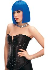 CLEO WIG - BLUE Medium Back