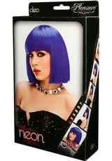 CLEO WIG - BLUE Medium Front