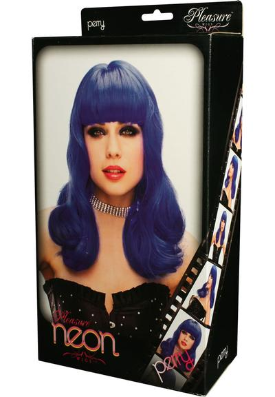 PERRY WIG - BLUE (DISC) Medium Front