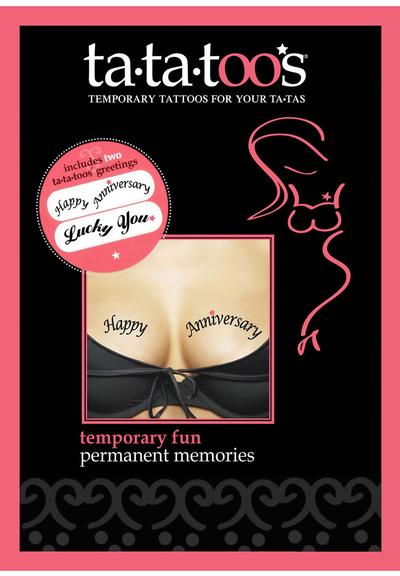 HAPPY ANNIVERSARY / LUCKY YOU Medium Front