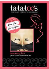 KISS ME / LUCKY YOU Medium Front