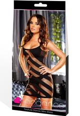 FEATURE DANCE MINI DRESS-BLACK Medium Front