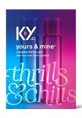 KY YOURS & MINE COUPLES LUBRICANT 3OZ