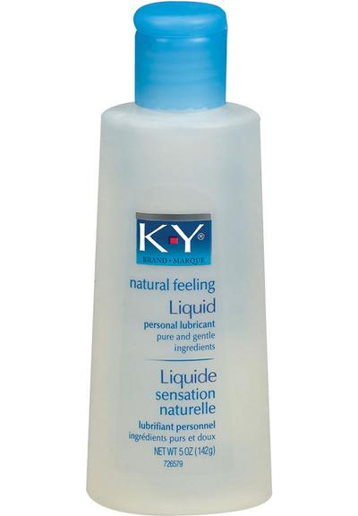 KY LIQUID LUBRICANT 24/5 OZ Medium Front