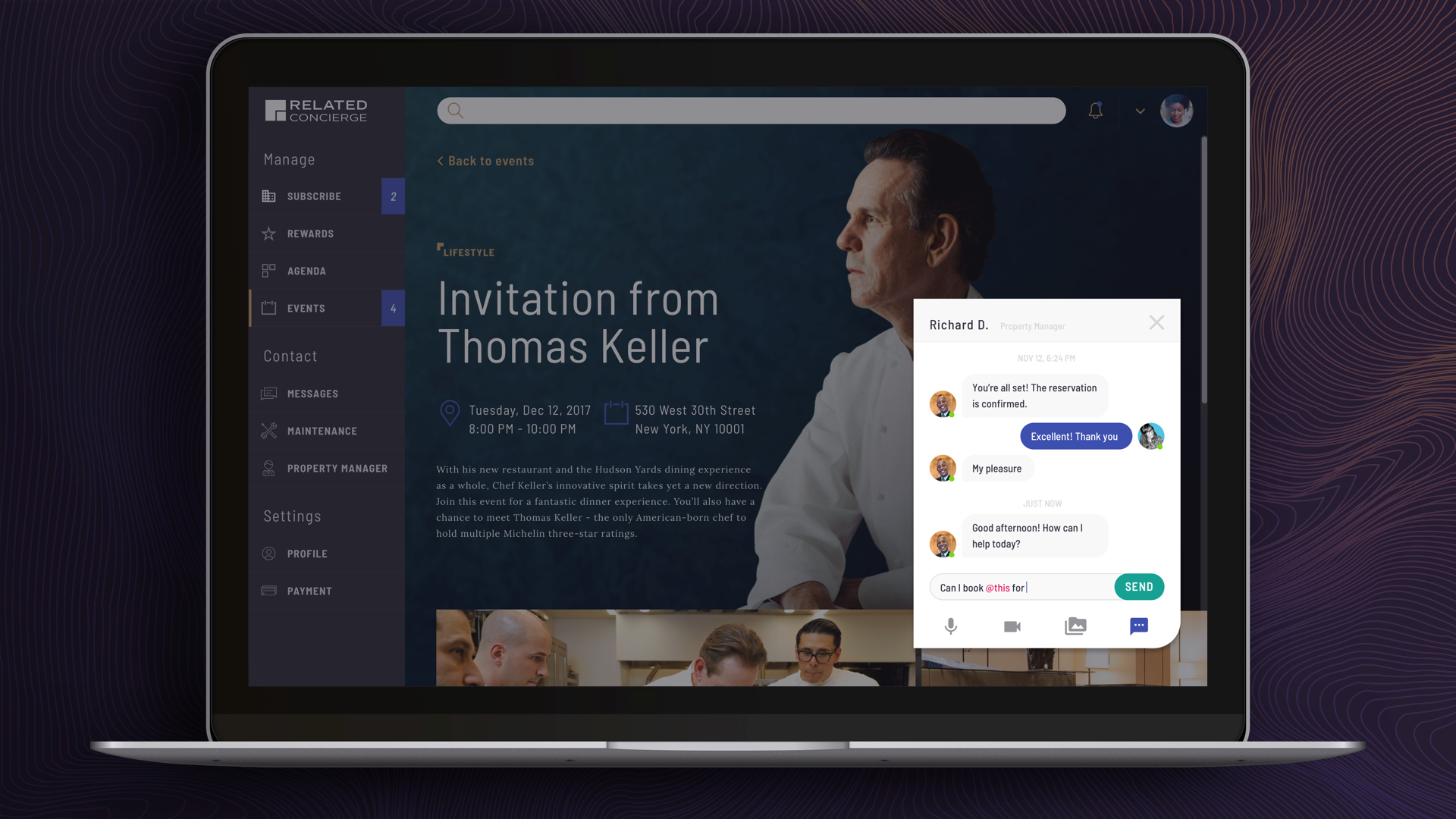 Current Residents – Chat with Concierge