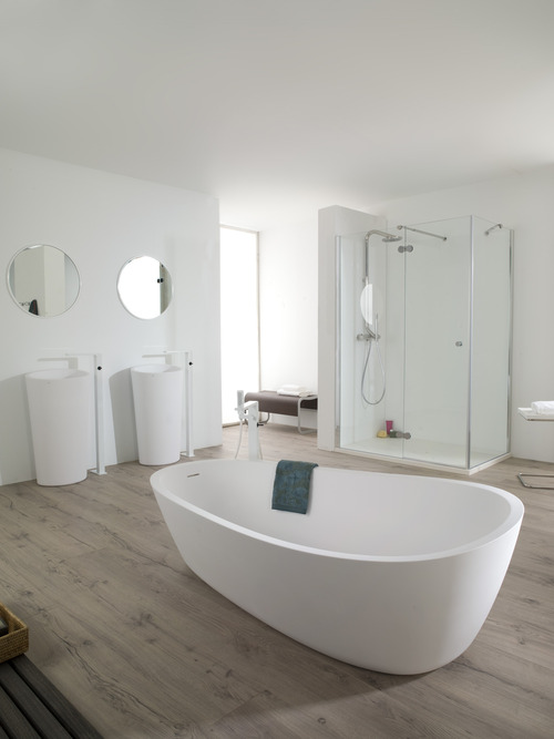 Awesome Bath | Free Standing Bathtub | Almond