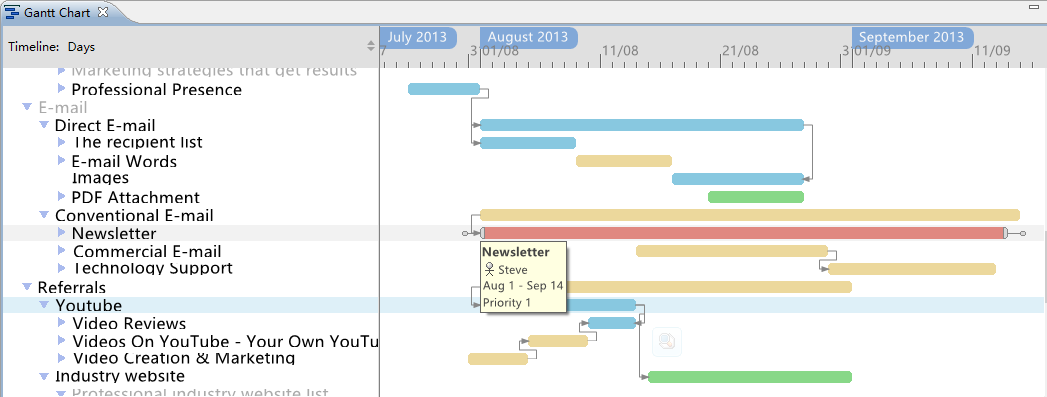 Xmind Calendar Template