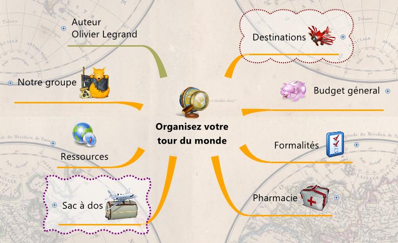 Organisez votre tour du monde