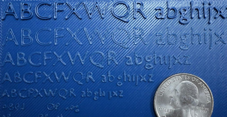 The Ultimate Guide to 3D Printed Text