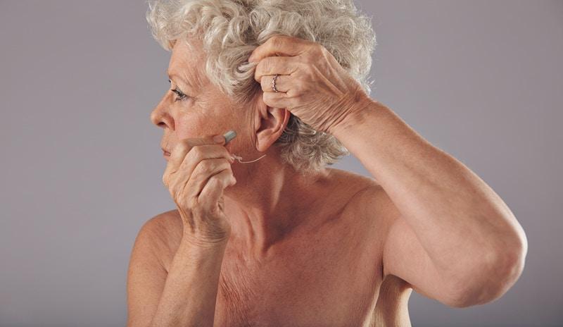 Tinnitus hearing test