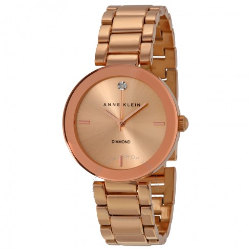 Anne-Klein-Women-AK1362RGRG-Rose-Goldtone-Bracelet-Watch