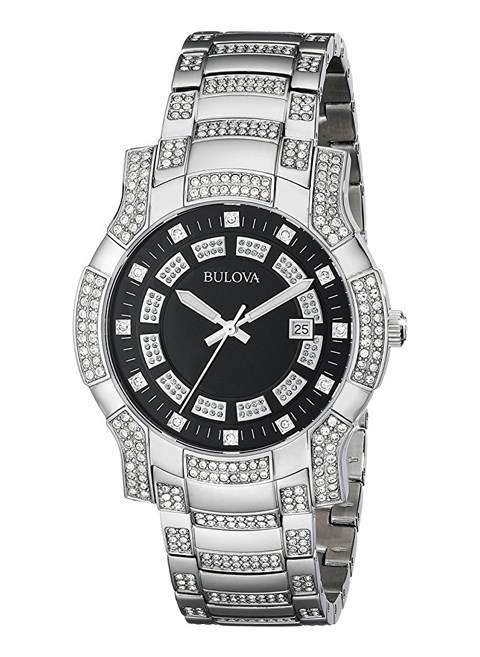 Bulova-96B176-Mens-Crystal-Watch