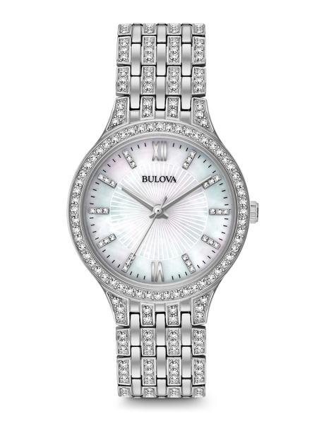 Bulova-Womens-96L242-Swarovski-Crystal-Stainless-Steel-Watch
