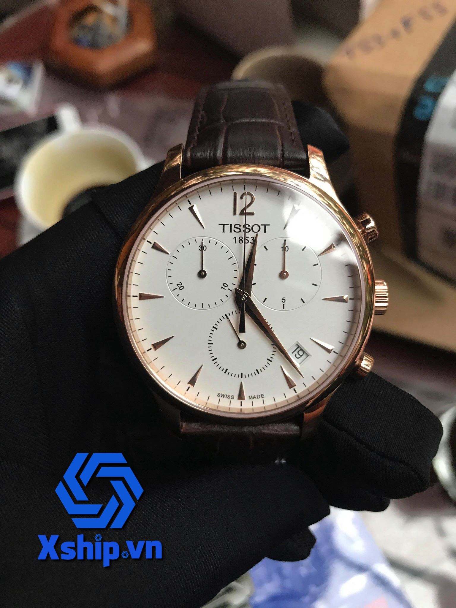 Tissot Tradition Chronograph T063.617.36.037.00 (T0636173603700)
