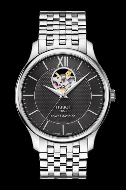 Tissot-Tradition-Powermatic-80-Open-Heart-T063.907.11.058.00-(T0639071105800)