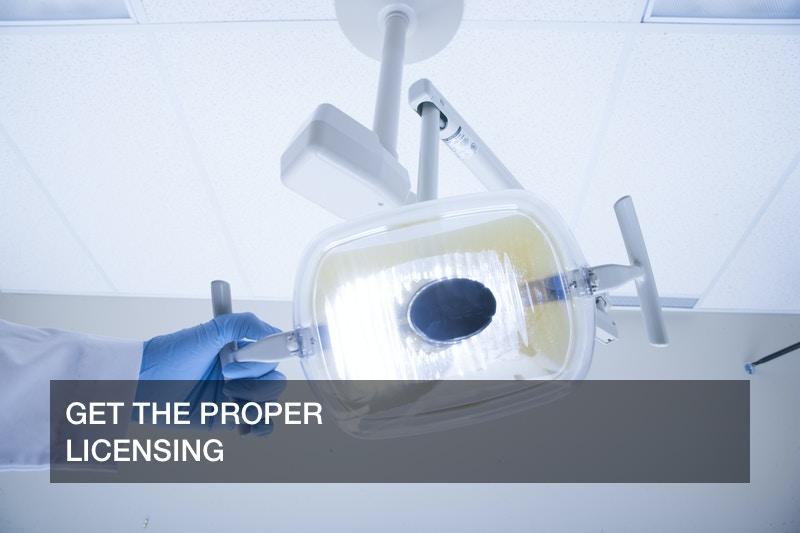 running a dental practice