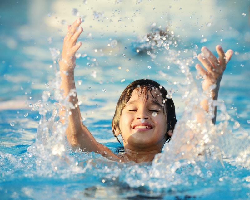 Swimming workings for triathlon training