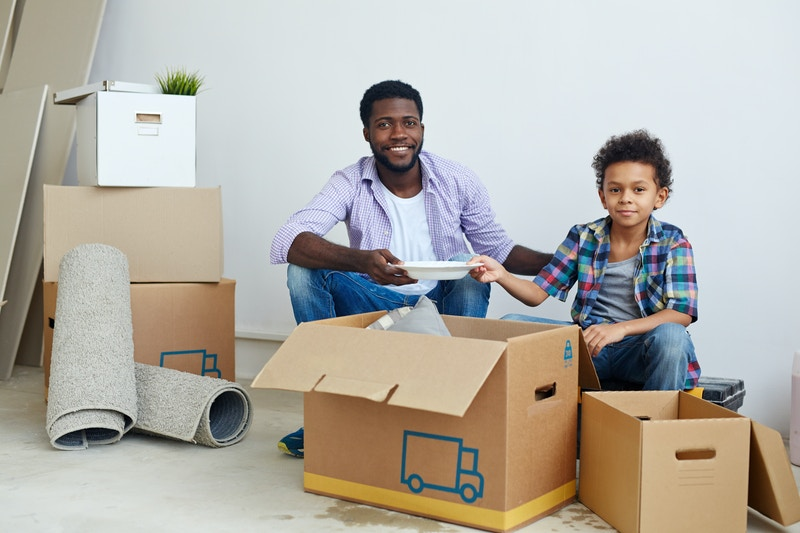 moving to a new city after divorce