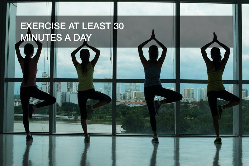 healthy lifestyle goals