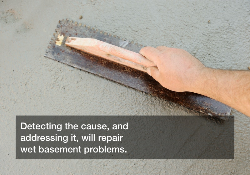 wet basement problems