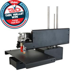 Simple metal thin wallet win