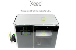 Leapfrog xeed 3d printer 2