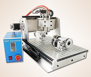 2013 updated 4th axis 4axis four axis cnc router 3040 ballscrew cnc engraving machine drilling and