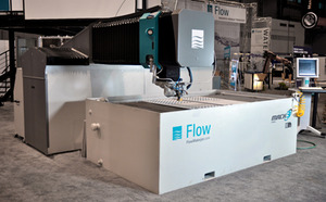 Flow water jet mach 3 used