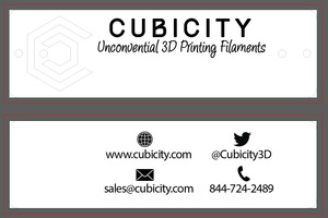 Cubicity wooden tags image