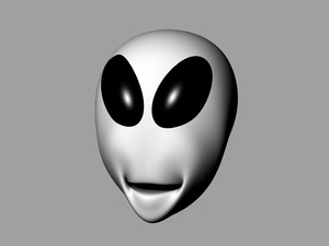 Gray head