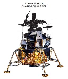 Lem chariot drum riser