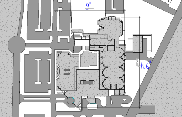 Sd campus plan view