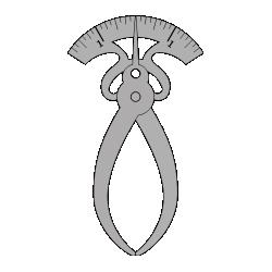 Tool calipers locking