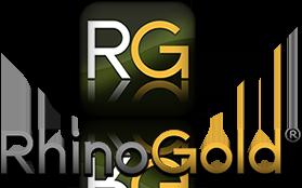 Rhinogold 3d modeling jewelry logo