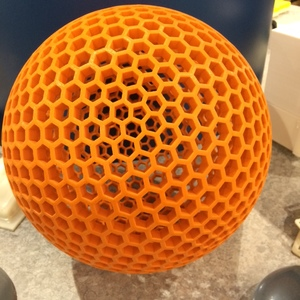 3d printed sphere