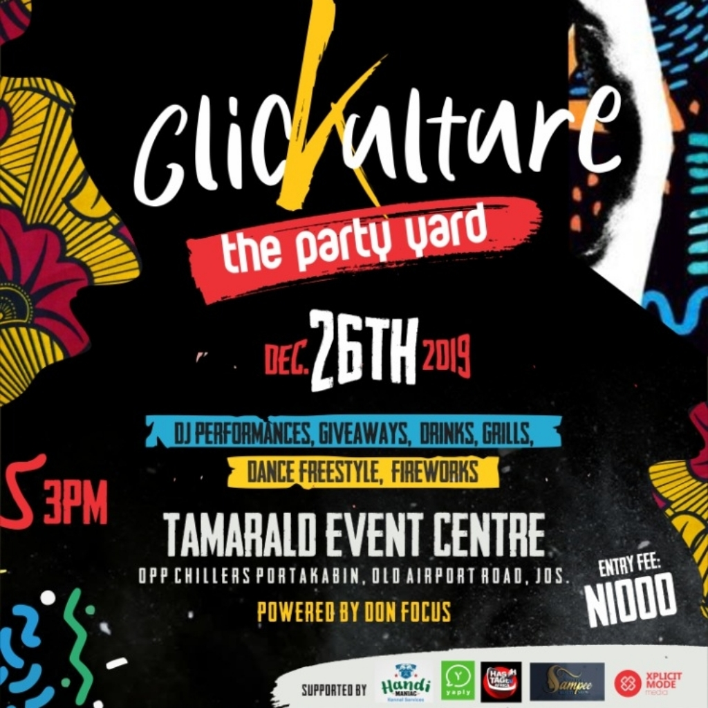 Get Ready for the biggest outdoor party in Jos this December.🎄🥳🕺💃🏿  #clicKulture #kizzyentertainment