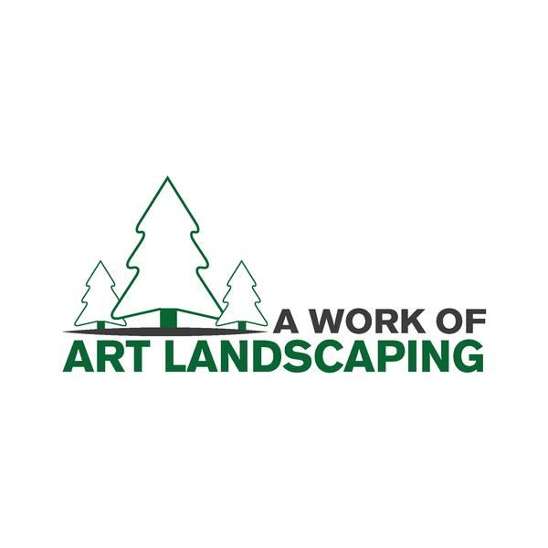 B12889 a work of art landscaping logo 02