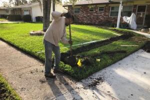 Irrigation repair cmp