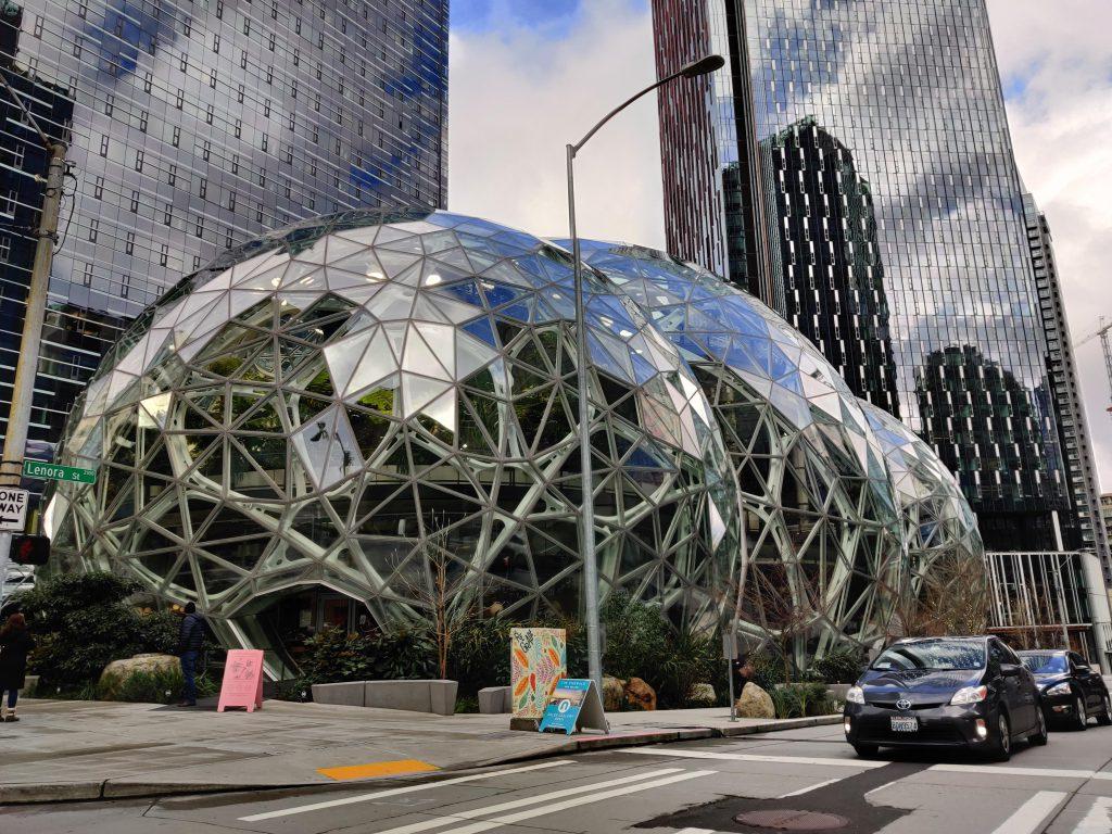 Seattle Bezos balls