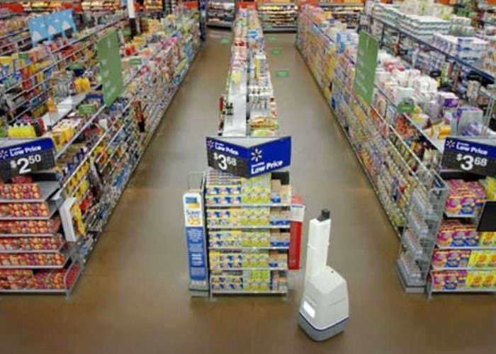 Walmart Shelf Scanning Robots 3
