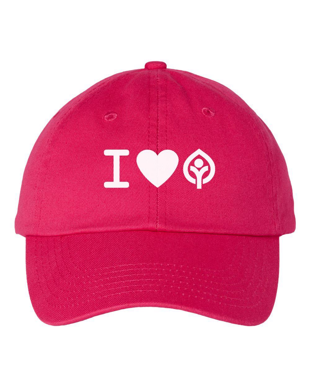 I Heart Dad Cap