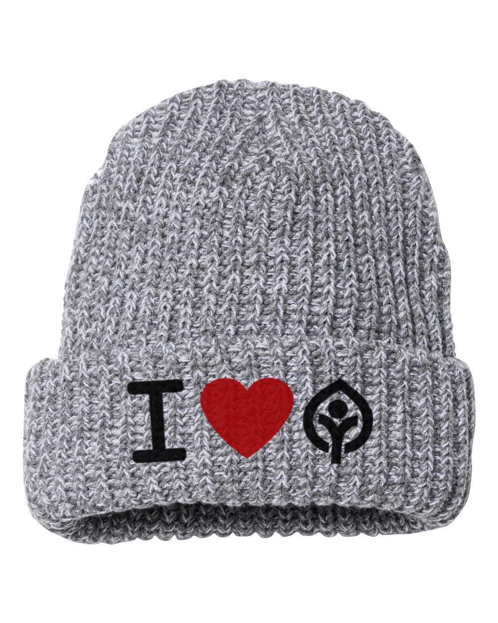 I Heart Knit Beanie