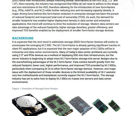 M.2 Form-factor SSD Future of Data Center - Whitepaper - Liqid - YourDailyTech