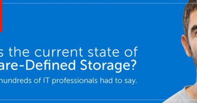[MARKET SURVEY] The State of SDS, Hyperconverged and Cloud Storage