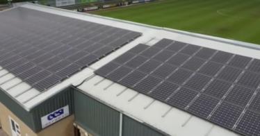 Der erste voll-ökologische Fußball-Club der Welt (Video)