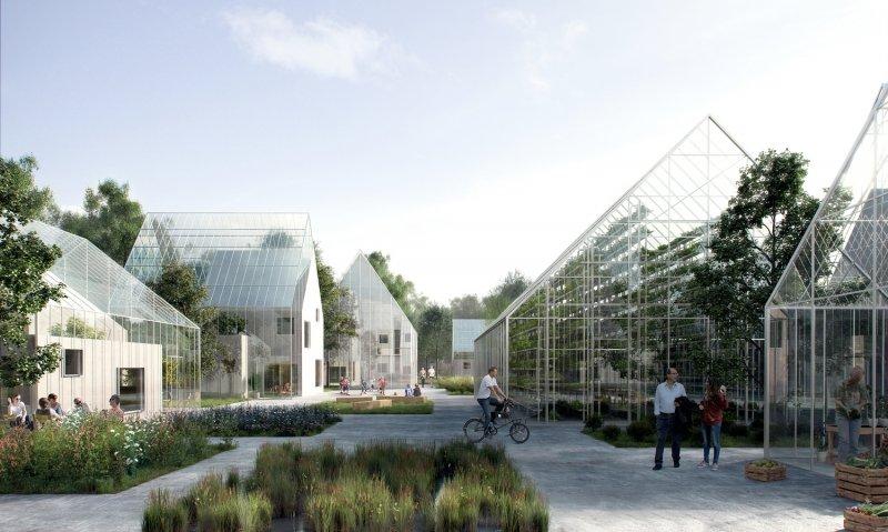 Autarkes Öko-Dorf ReGen Village   Quelle: http://www.effekt.dk/work#/regenvillages/